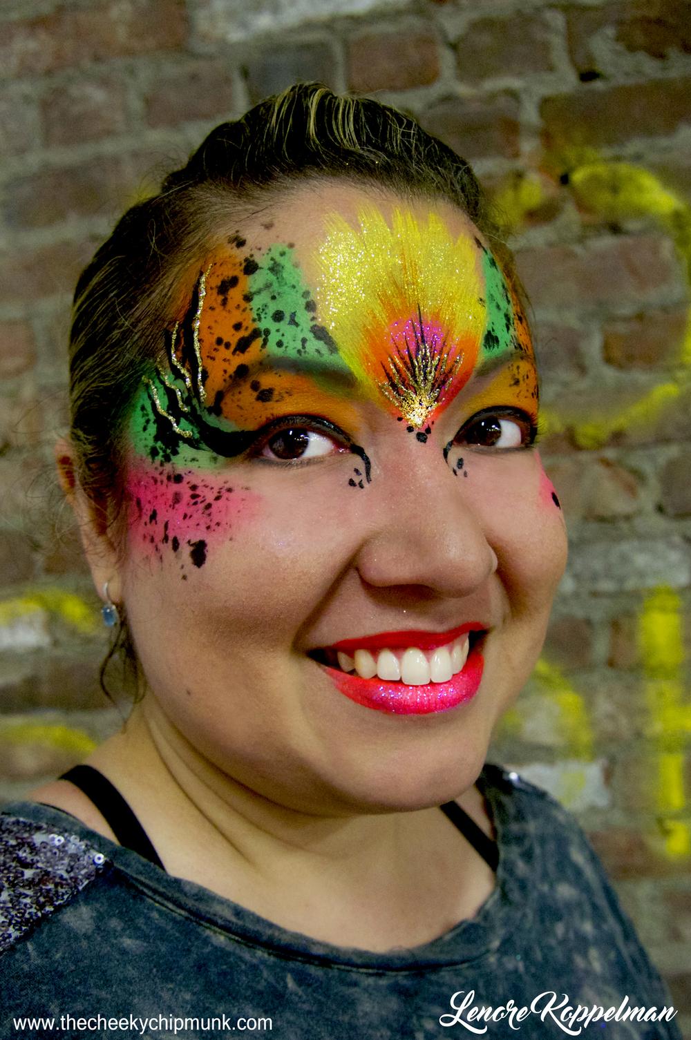 celebrity catwalk bird splatter mask 2016.jpg