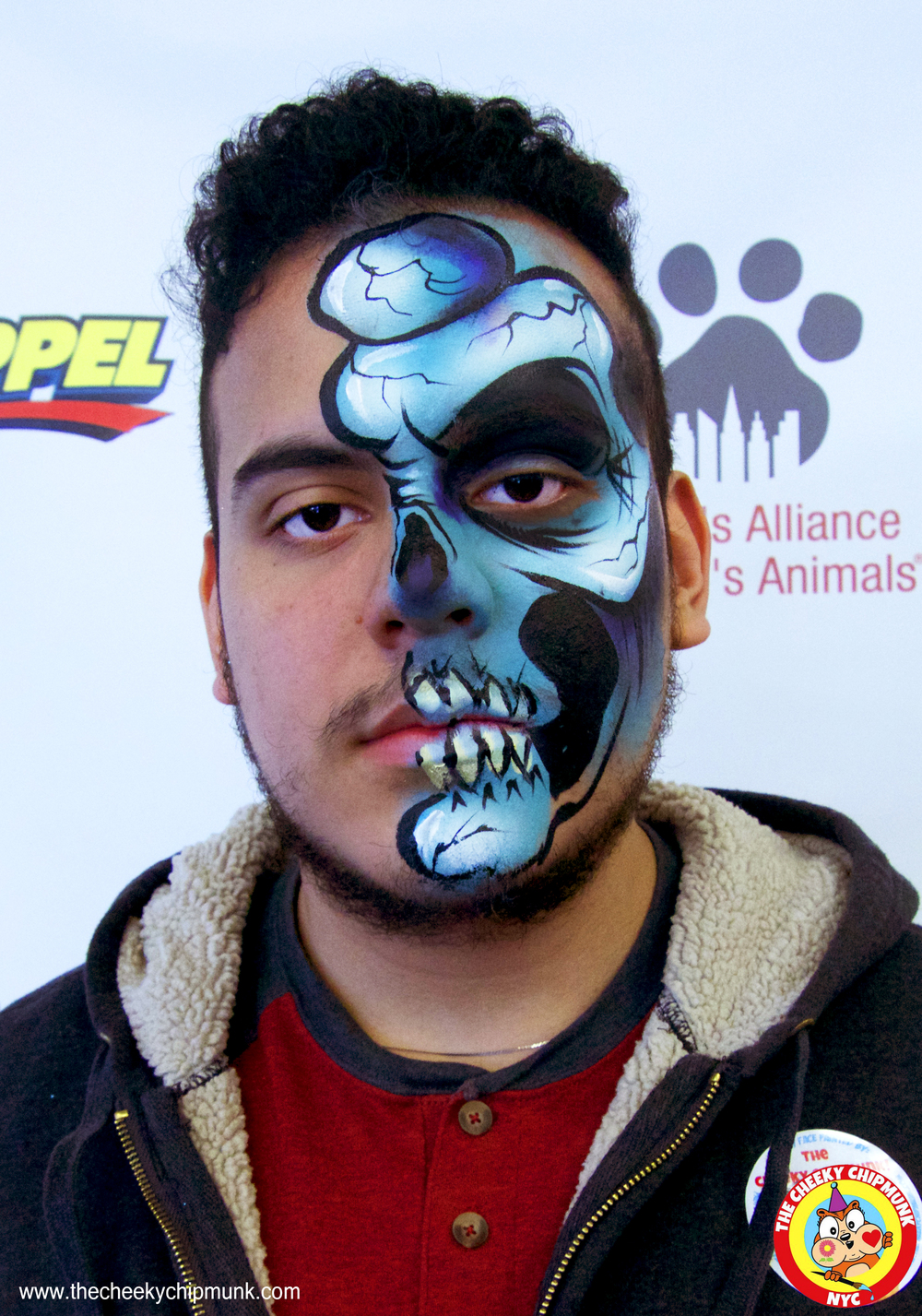 adoptapalooza may 22 2016 adult ronnie mena half skull man.jpg