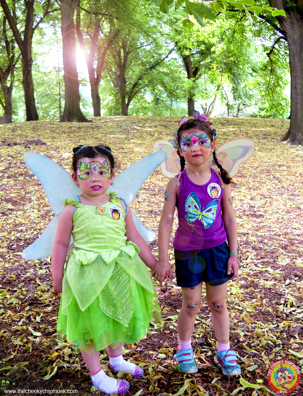 silvias birthda party 2016 silvia and baby green fairy in woods.jpg
