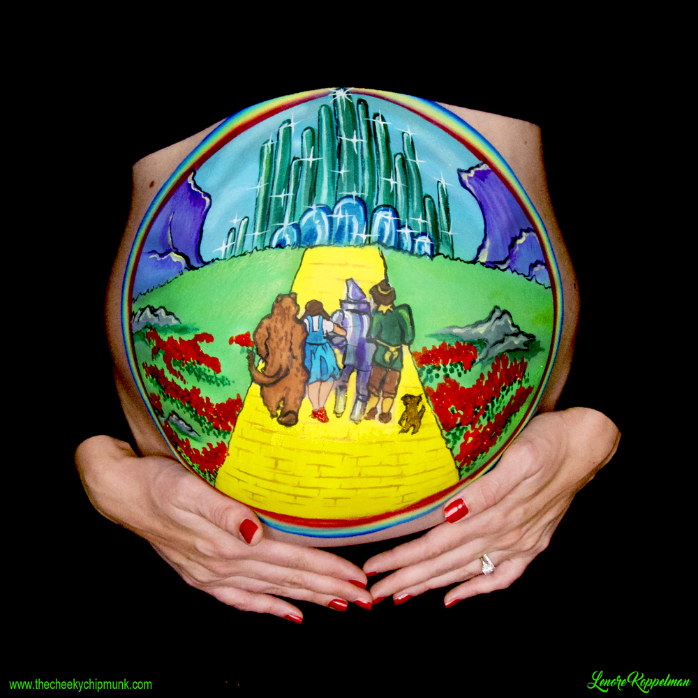 wizard of oz belly painting 2.jpg