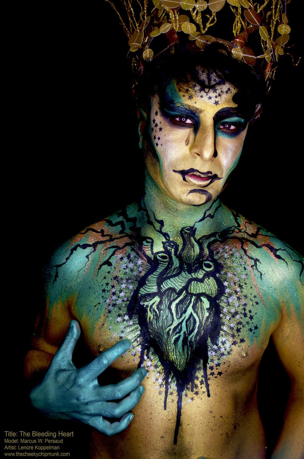 The Bleeding Heart body paint marcus persaud 2.jpg