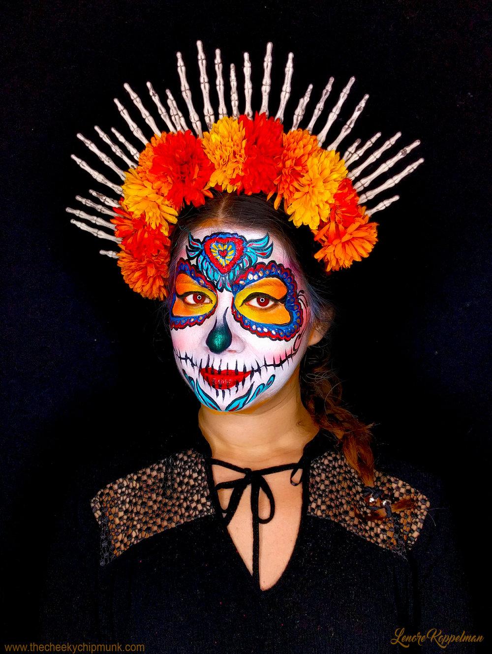 Diane sugar skull.jpg