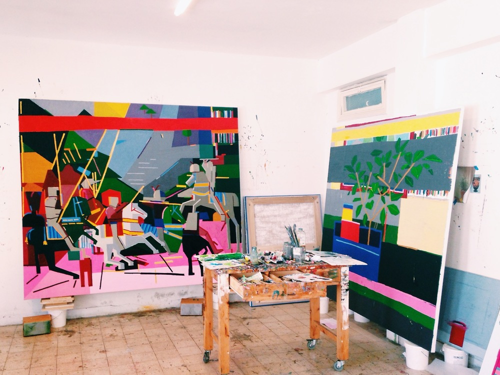 Meet an assortment of Tel Aviv's inspiring artists in their personal creative spaces.