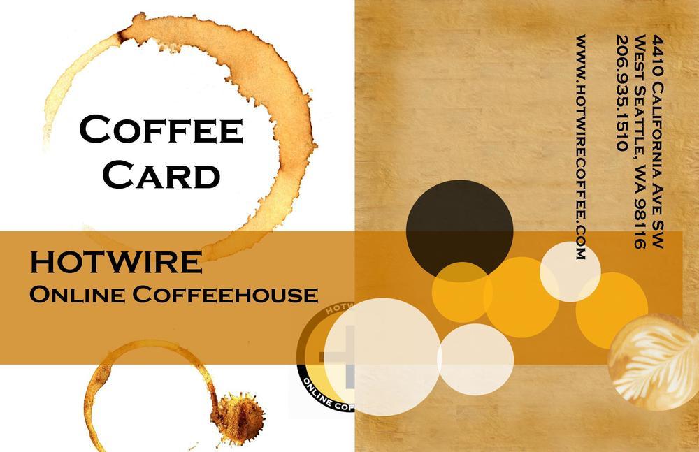 Hotwire Coffee Card