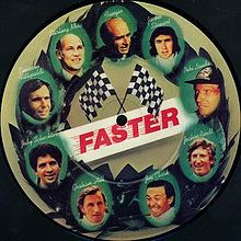 "Canción ""Faster"" by George Harrison."