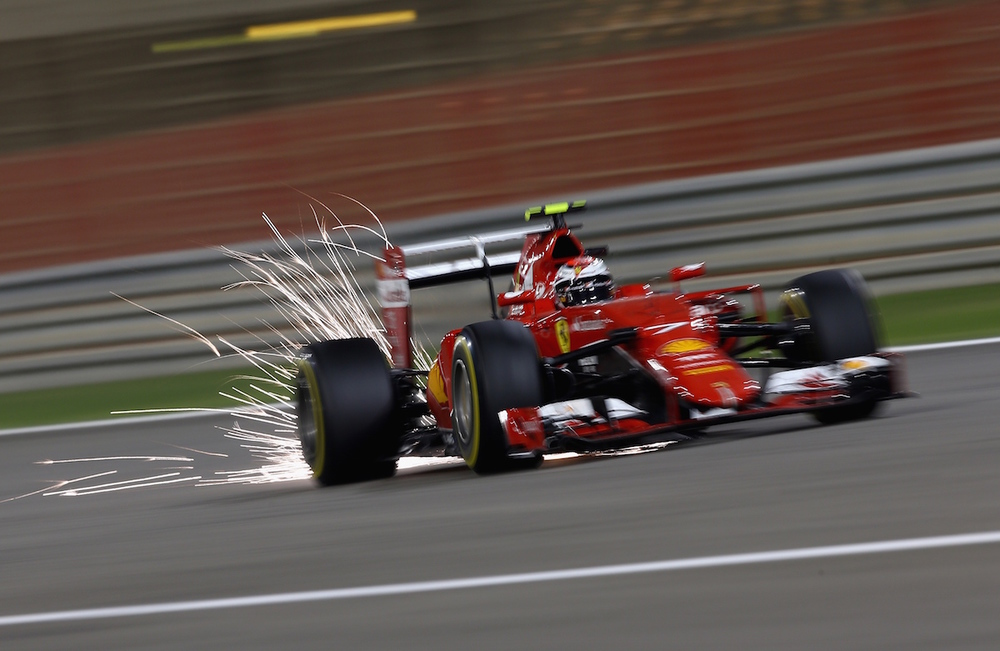 Kimi absolutely flying!