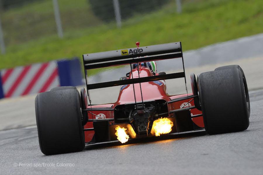 6 Wide tires Ferrari F1 87 88C Austria 2011.jpg