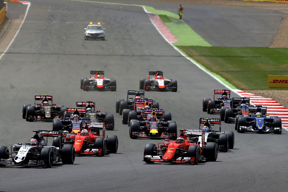 British Grand Prix start