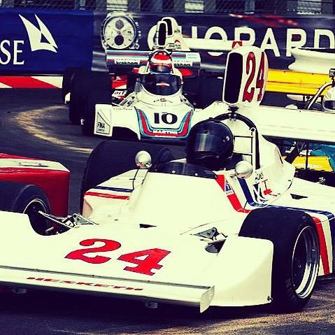 James Hunt 1975 Hesketh Racing