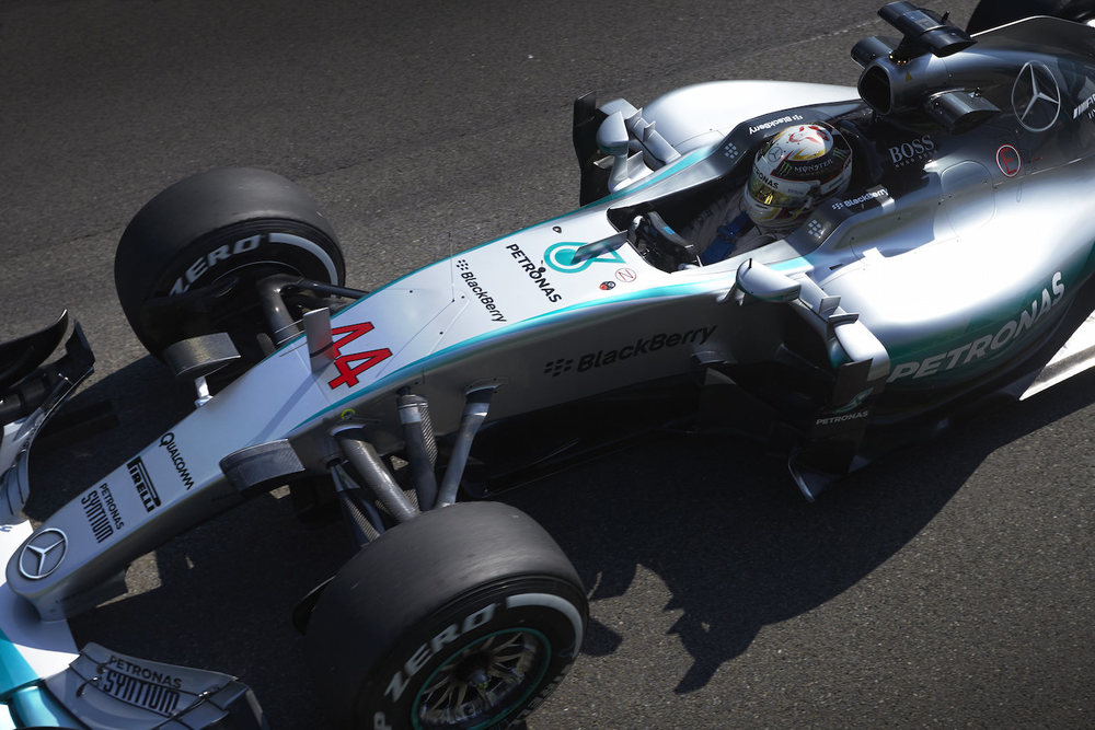 Hamilton's Mercedes