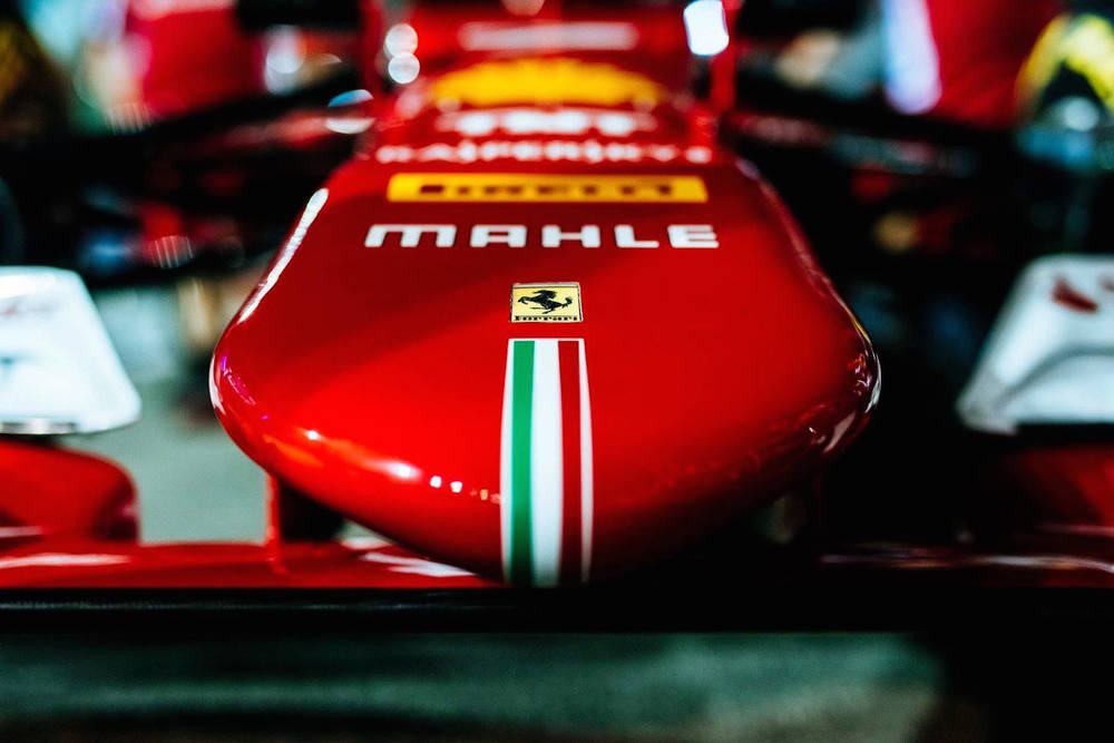 Ferrari SF15-T nose