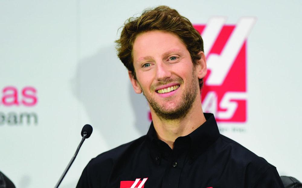 Romain Grosjean - Haas F1 Team driver