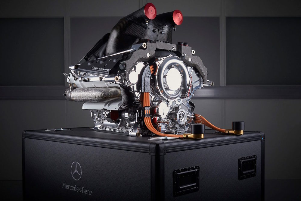 Mercedes-Benz power unit F1