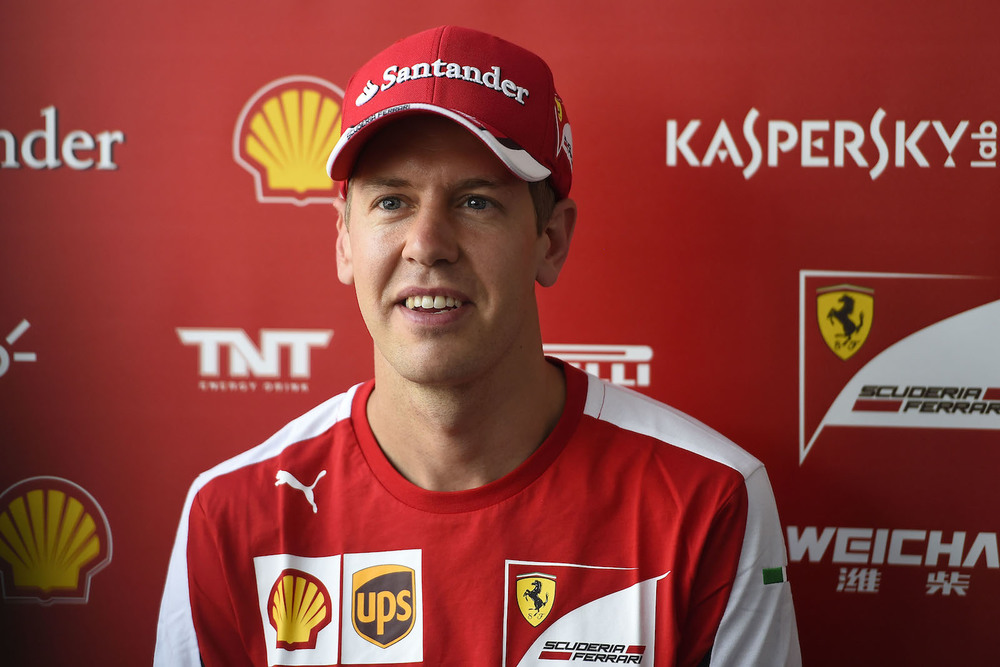 Sebastian Vettel in Mexico City