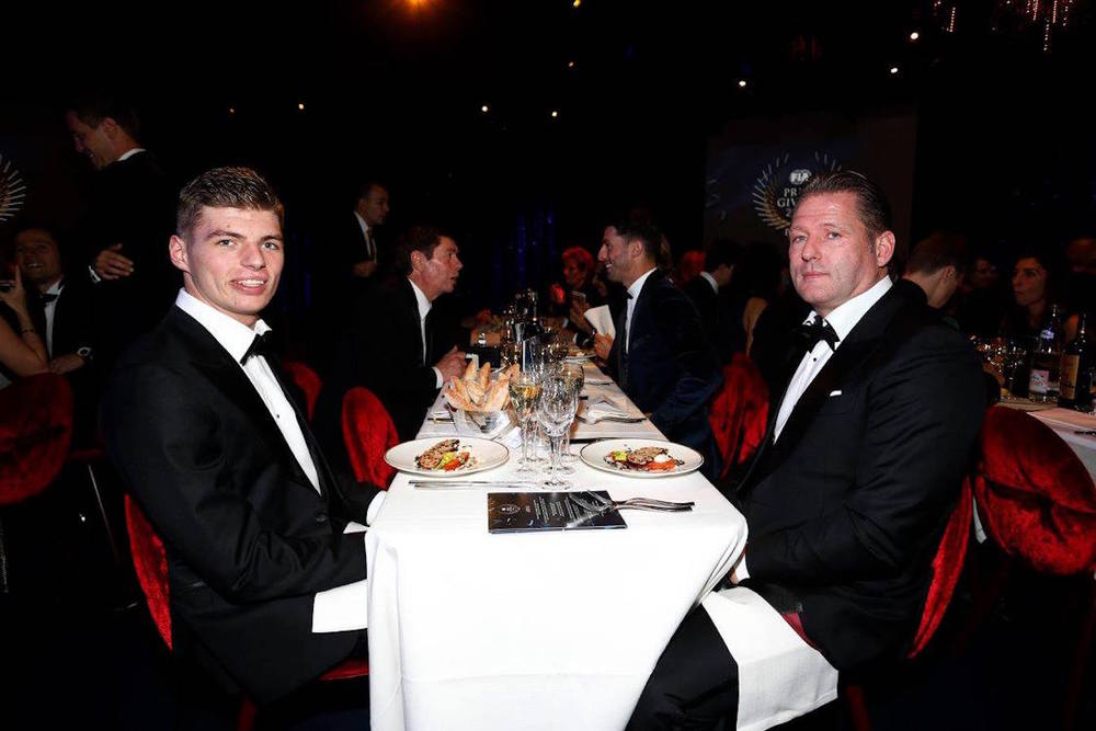 Max and Jos Verstappen at FIA Gala 2015.jpg