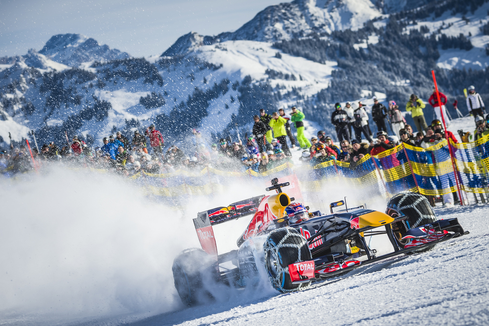 Max Verstappen snow run in Austria 2016
