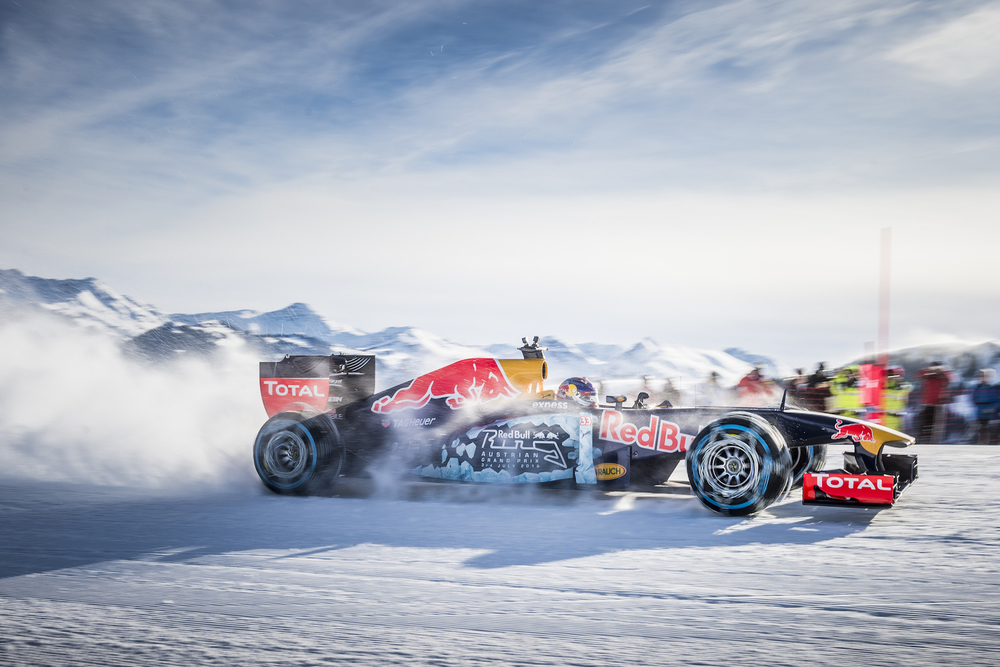 The Red Bull RB7 driven by Max Verstappen in Austria