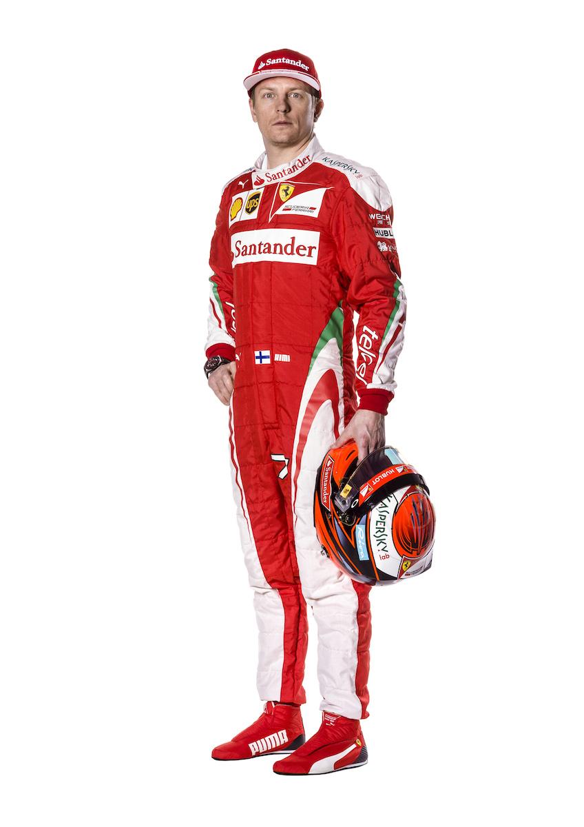 Kimi Raikkonen and the SF16-H