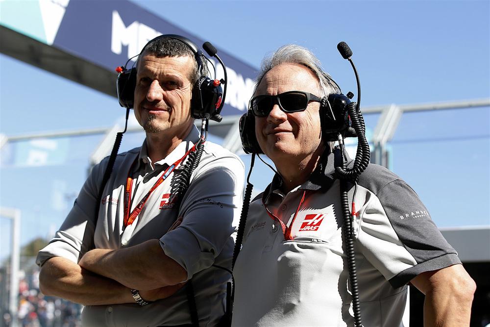 Gunther Steiner and Gene Haas