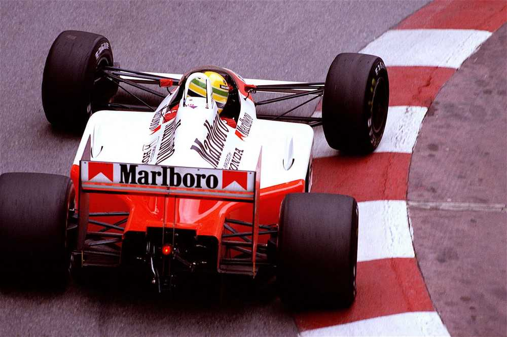 Salracing Senna 1988 Monaco Grand Prix