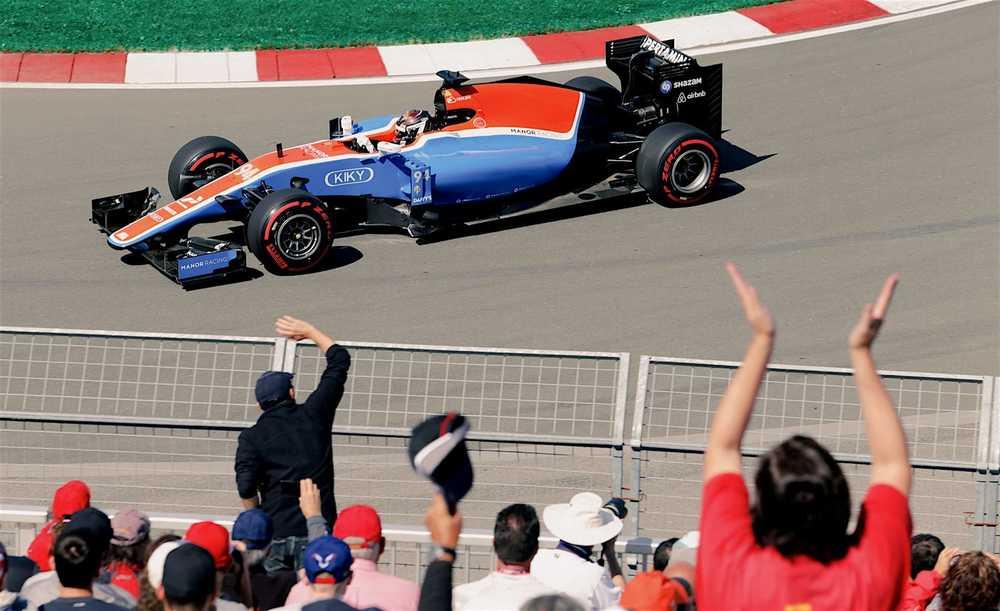 Salracing - Pascal Wehrlein | Manor Racing
