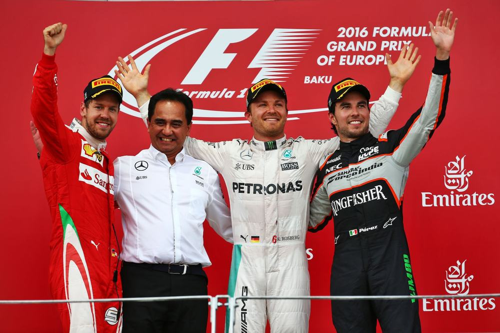 Salracing | European Grand Prix Podium