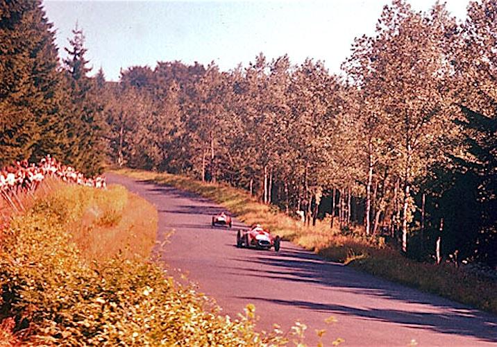 Mike Hawthorn & Peter Collins | Lancia-Ferrari D50