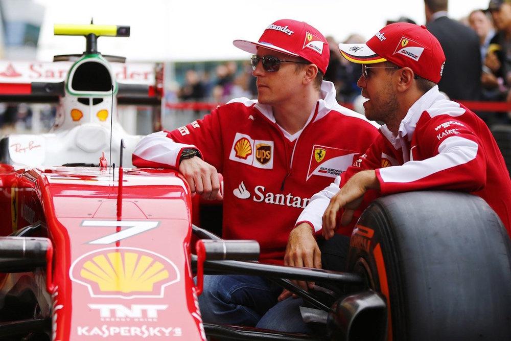Salracing | Scuderia Ferrari drivers