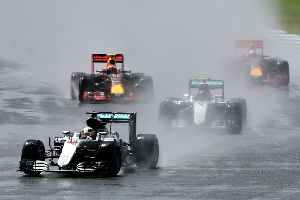 Salracing | British Grand Prix very wet first laps