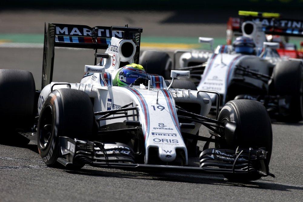 Salracing - Williams FW38 Mercedes teammates