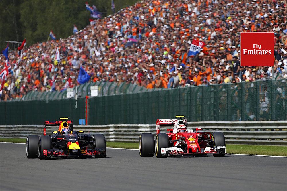 Salracing - Max Verstappen and Kimi Raikkonen