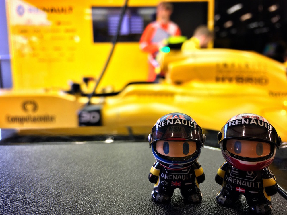 Salracing - Renault Sport F1 Mini Drivers