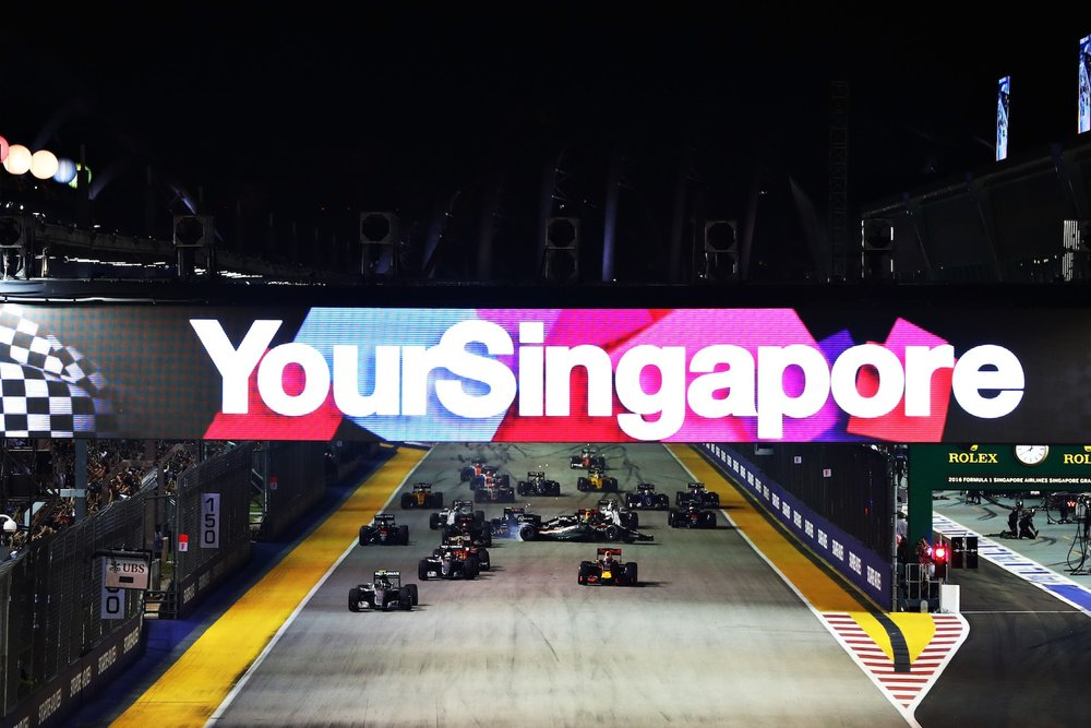 Salracing - Singapore Grand Prix start