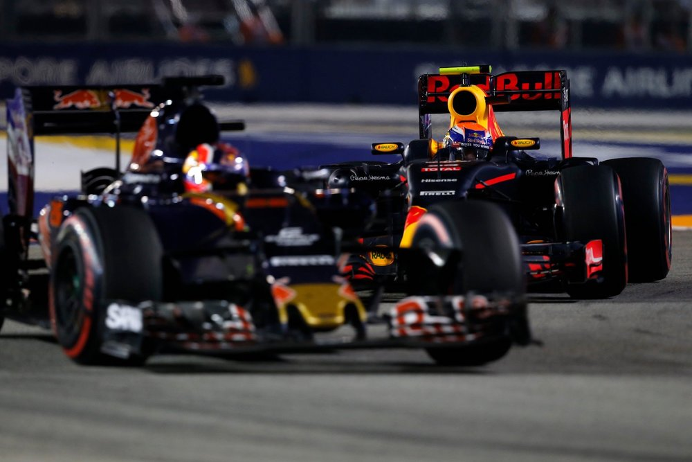 Salracing - Daniil Kvyat and Max Verstappen