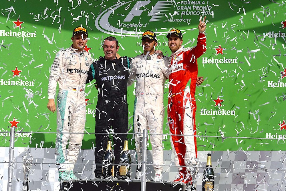 Salracing - Mexican Grand Prix podium