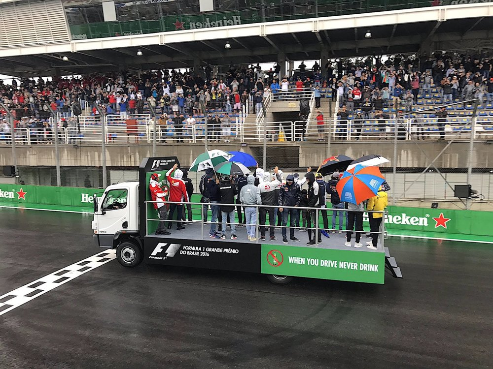 Salracing - Drivers' Parade