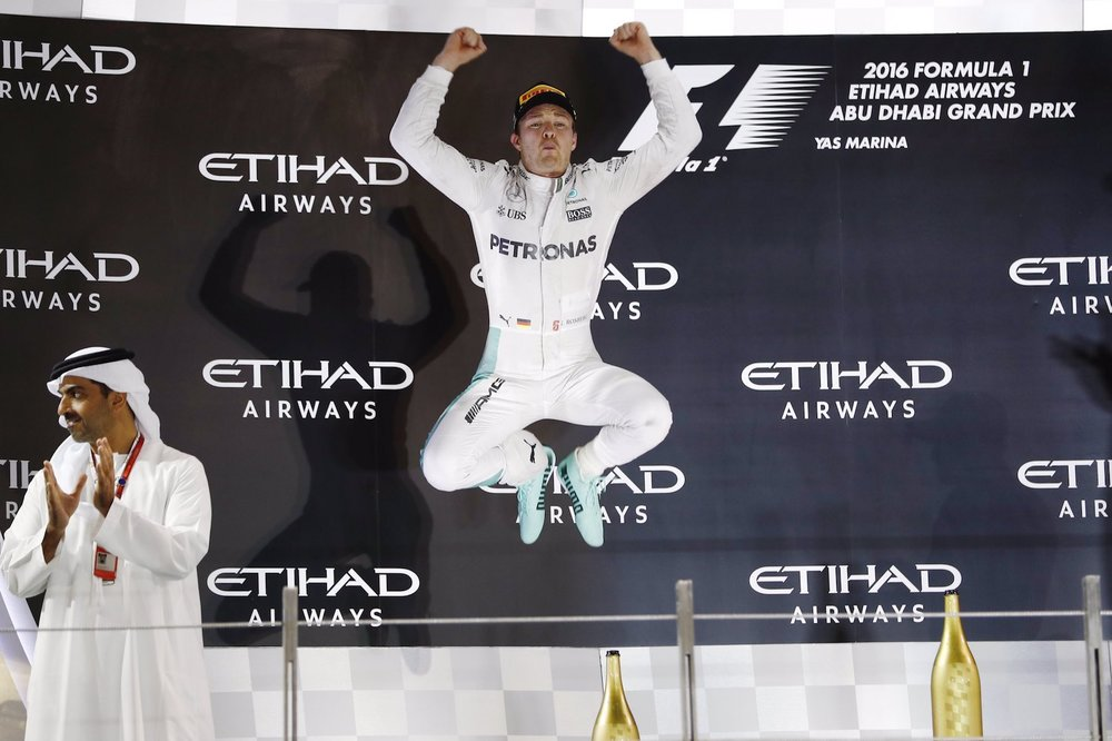 Salracing - Nico Rosberg after winning the 2016 WDC