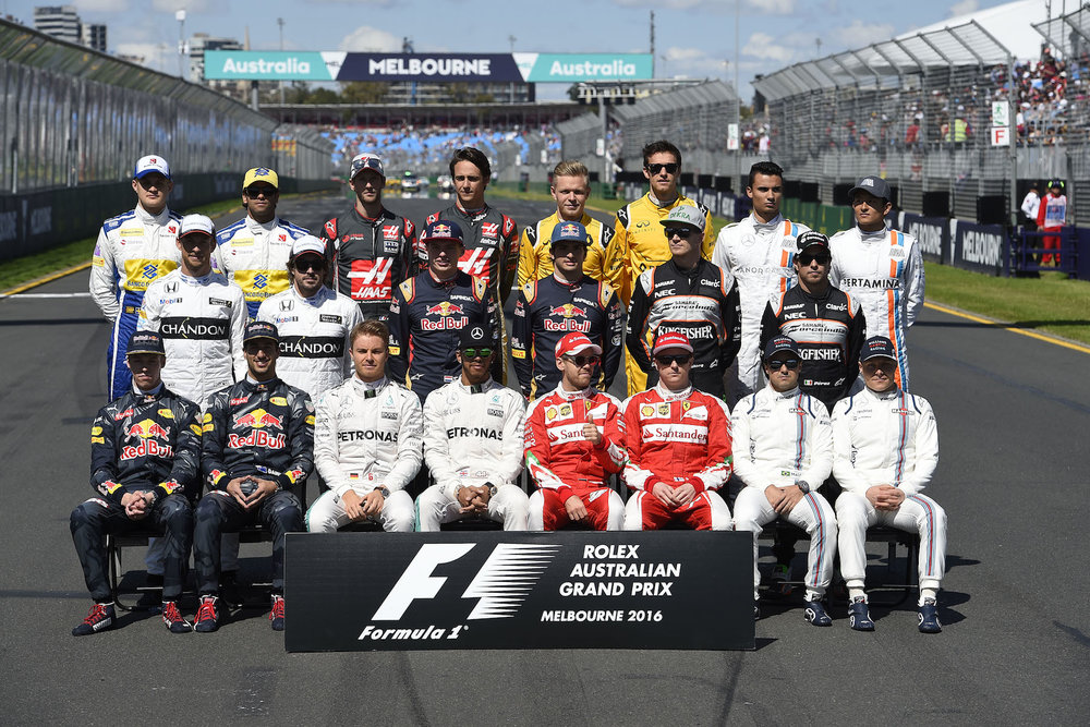 The 2016 Formula One contenders
