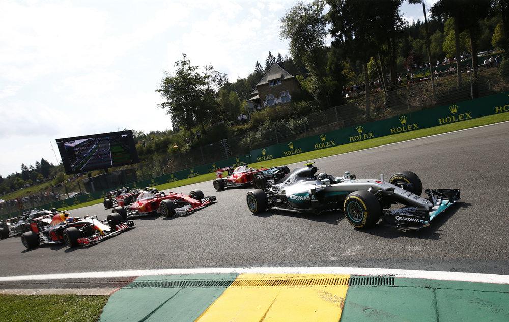 🇧🇪 Belgian Grand Prix winner: 🇩🇪 Nico Rosberg