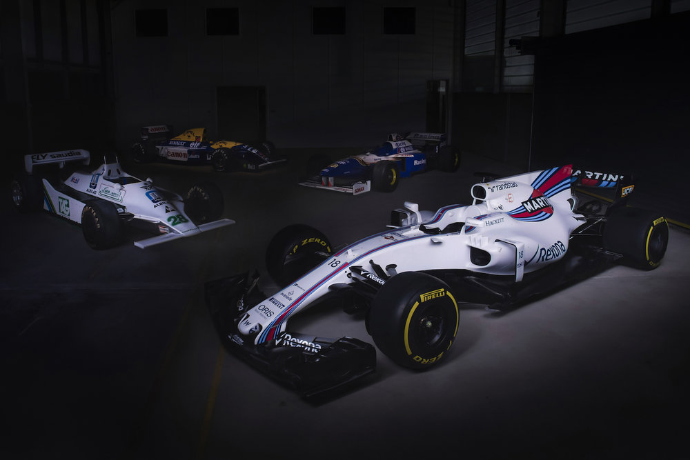 Salracing | Williams Mercedes FW40 4