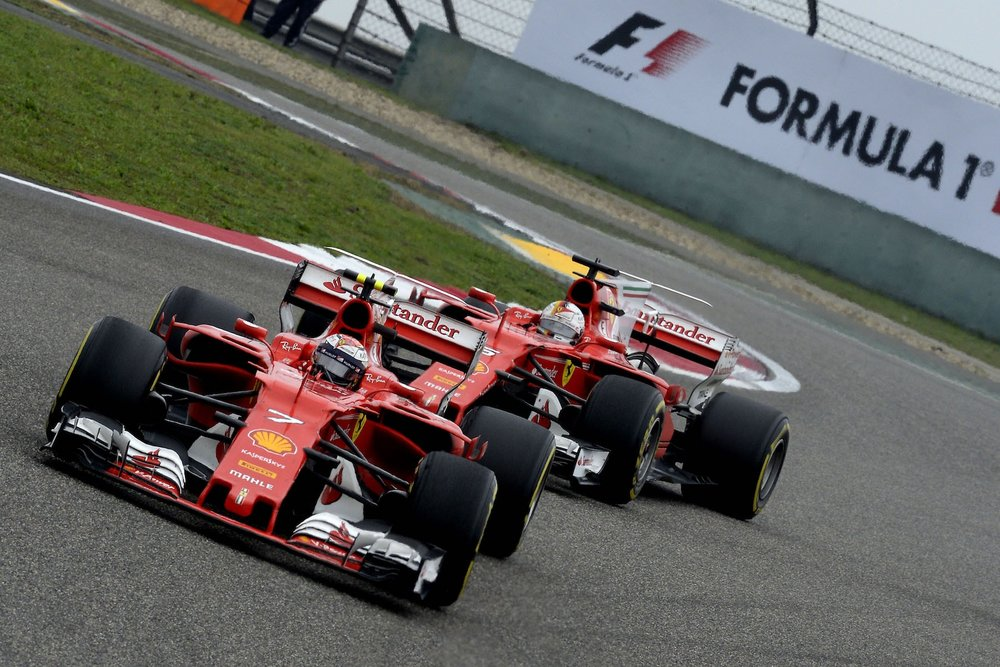 J 2017 Kimi Raikkonen and Sebastian Vettel | Ferrari SF70H | 2017 Chinese GP P5 1 copy.jpg