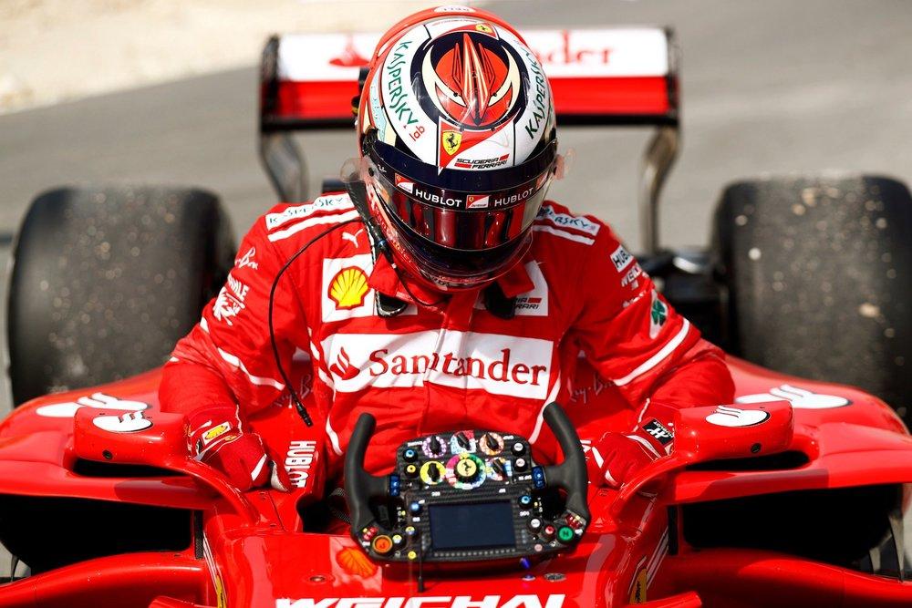 2017 Kimi Raikkonen | Ferrari SF70H | 2017 Bahrain GP FP1 1 copy.jpg