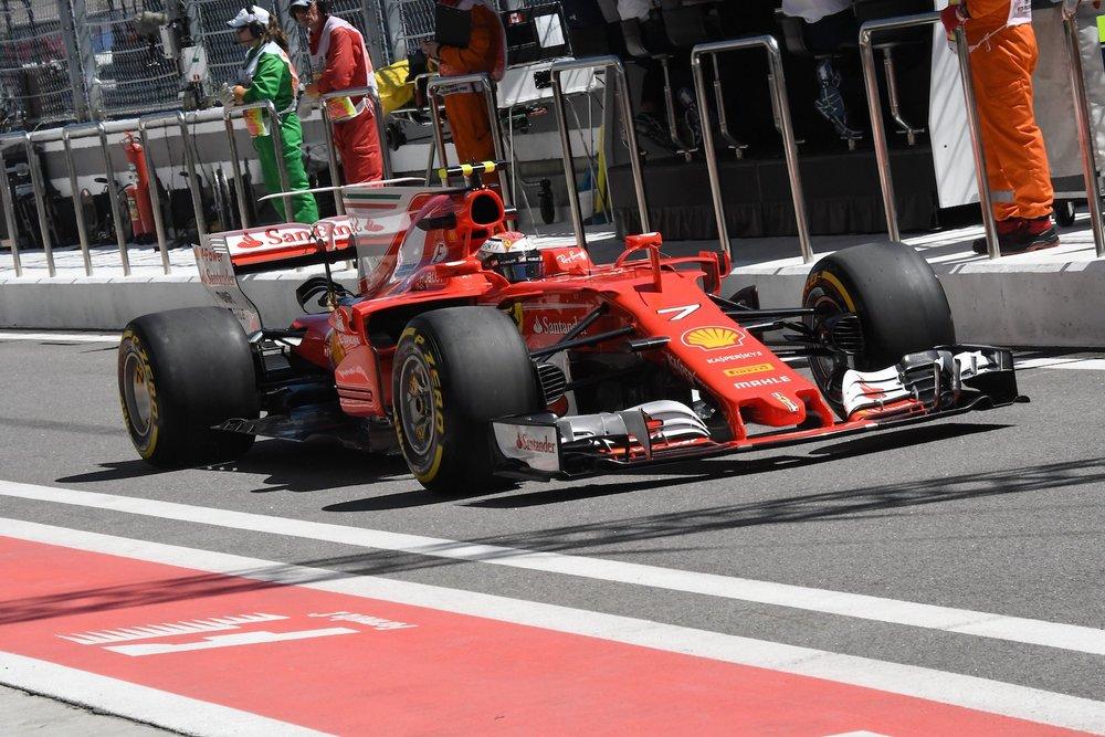 2017 Kimi Raikkonen | Ferrari SF70H | 2017 Russian GP FP1 1 copy.jpg