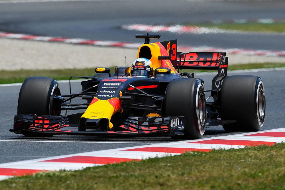 2017 Daniel Ricciardo | Red Bull RB13 | 2017 Spanish GP P3 1 copy.jpg