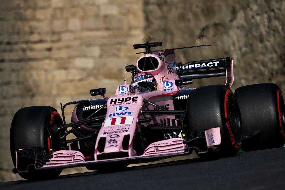 2017 Sergio Perez | Force India VJM10 | 2017 Azerbaijan GP Q3 P5 2 copy.jpg