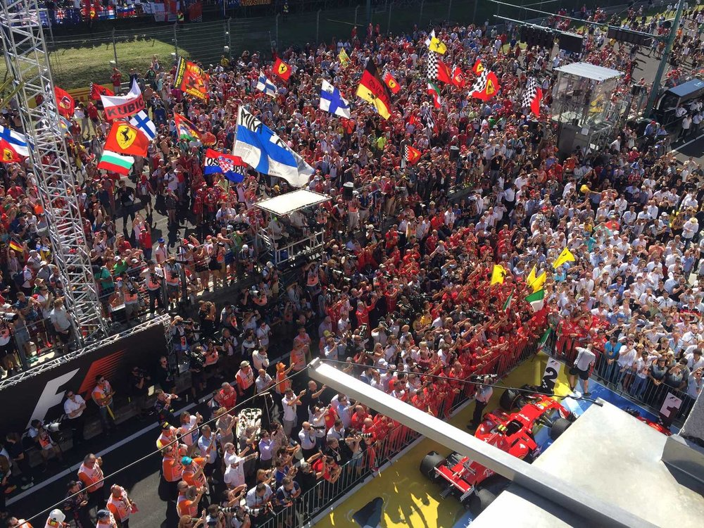 Y 2017 Hungarian GP crowd after Grand Prix copy.jpg