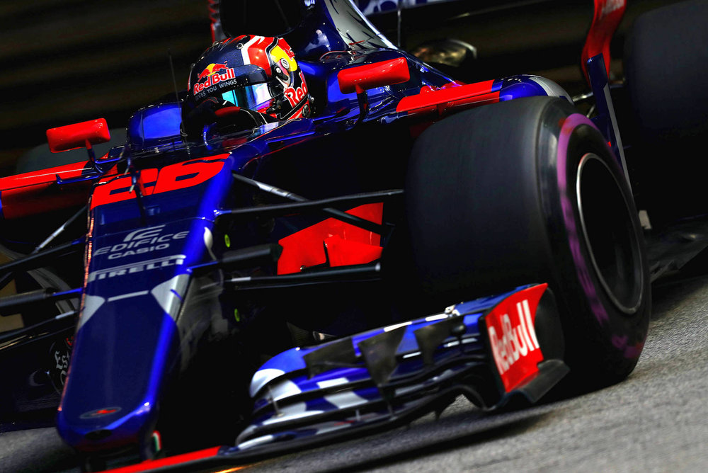 2017 Daniil Kvyat | Toro Rosso STR12 | 2017 Singapore GP FP2 1 Photo by Mark Thompson:Getty Images copy.jpg