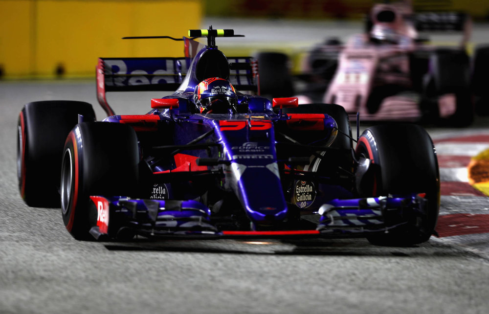 F 2017 Carlos Sainz | Toro Rosso STR12 | 2017 Singapore GP P4 1 Photo by Lars Baron:Getty Images copy.jpg