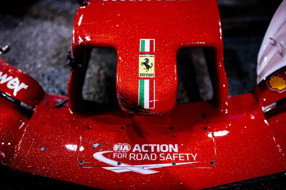 Z 2017 Ferrari nose cone after crash 1 copy.jpg