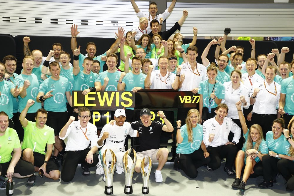 W 2017 Mercedes AMG Team celebrating win copy.JPG